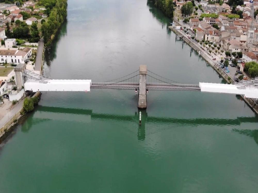 Alliance Echafaudages - Réalisation - Vue drone